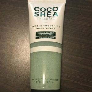 Bath & Body Works COCO SHEA CUCUMBER - Scrub